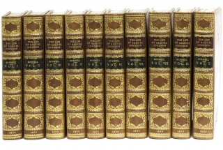 The Life of Samuel Johnson, LL.D including A Journal of His Tour to the Hebrides; ...with...