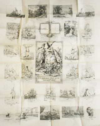 Broadside: F.W. Steigelman & Co Publishers and Art Dealers printed on both sides