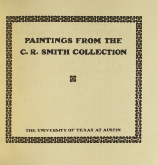 Paintings from the C.R. Smith Collection