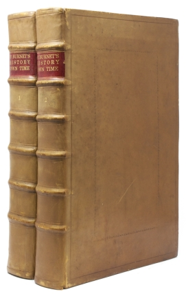 Bishop Burnet's History of His Own Time. Vol. I: From the Restoration of King Charles II to the...