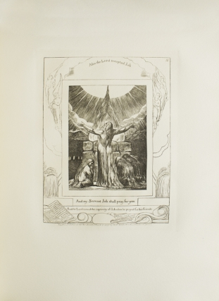 Illustrations of The Book of Job in Twenty-One Plates Invented and Engraved by William Blake