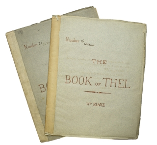 The Book of Thel. William Blake.