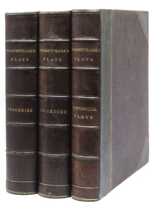 The Plays … Edited by Charles and Mary Cowden Clarke. Illustrated by H.C. Selous. The Comedies...