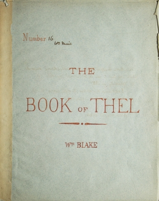 The Book of Thel. William Blake