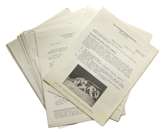 Collection of pamphlets and press releases involving the Six Day War