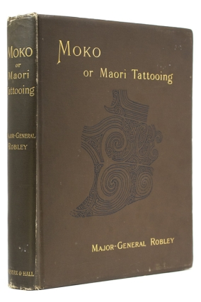 Moko; or Maori Tattooing