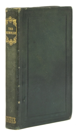 The Humourist, a companion for the Christmas fireside. Edited by W.H. Harrison. Embellished by...
