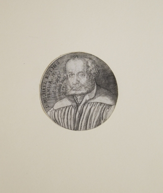 Doctor Michael Röting (1494-1588), Friend of Luther. Jakob Binck.