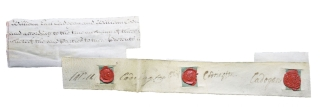 Clipped signature. William Cadogan, General and Statesman.