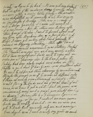 [Manuscript account of service to the Burma Commission in Burma, 1857-1860]. Burma, Col. Alexander Gordon Duff.