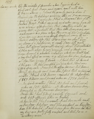 [Manuscript account of service to the Burma Commission in Burma, 1857-1860]