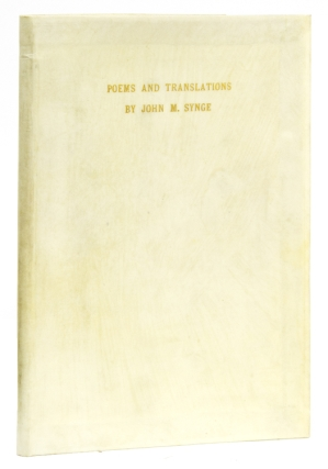 Poems and Translations. [Preface by W.B. Yeats]