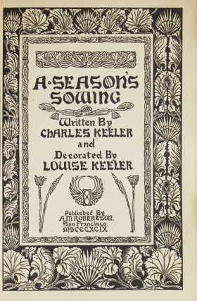 A Season Sowing