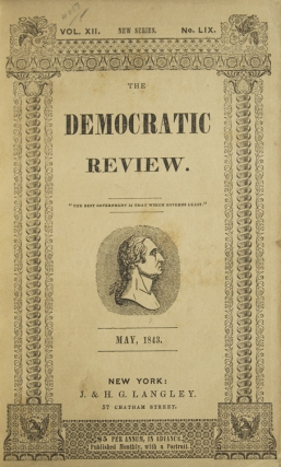 The United States Magazine, and Democratic Review. Vol. XII, no. LIX