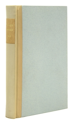 A Catalogue of the Library of the Late John Duke of Roxburghe, arranged by G. and W. Nicol,...