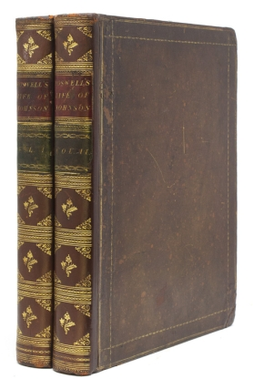 The Life of Samuel Johnson, LL.D.…in Two Volumes. James Boswell
