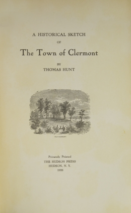 A Historical Sketch of the Town of Clermont