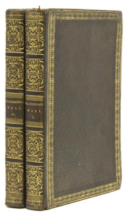 Bracebridge Hall or, The Humorists. A Medley, By Geoffrey Crayon, Gent. Washington Irving