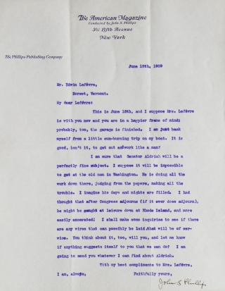 Archive of publisher correspondence and other material related to the writing career of Edwin Lefévre