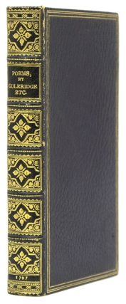 Poems by S.T. Coleridge, Second Edition, to Which are Now Added Poems by Charles Lamb, and Charles Lloyd. Samuel Taylor Coleridge, Charles LAMB, Charles LLOYD.