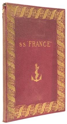"Description of the S. S. ""France""]. Ship SS ""France"", Léandre Vaillat"