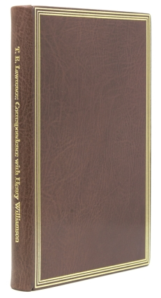 Correspondence with Henry Williamson. Edited by Peter Wilson. With a Prologue and Epilogue by...