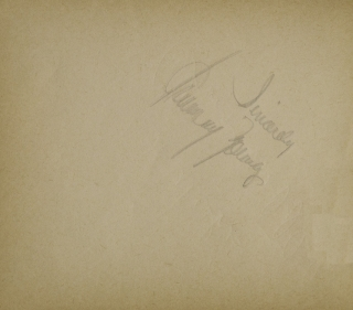 Autograph album signed by Louis Armstrong