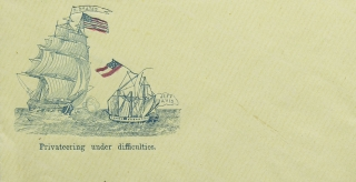 An album of Civil War Patriotic Pictorial Covers with pro-Union designs and slogans