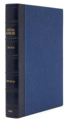 Hedda Gabler. A Drama in Four Acts … Translated from the Norwegian by Edmund Gosse