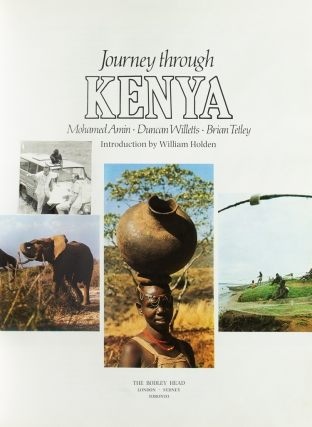 Journey through Kenya. Introduction by William Holden