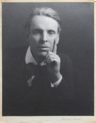 Portrait photograph of W.B. Yeats