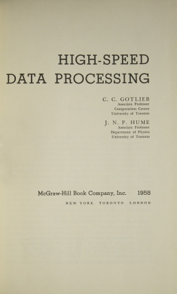 High-Speed Data Processing