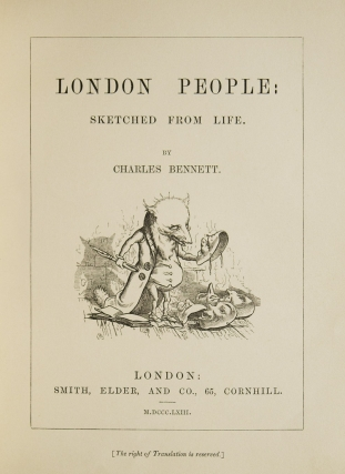 London People; Sketched from Life