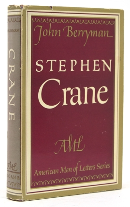 Stephen Crane … The American Men of Letters Series