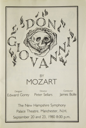 Don Giovanni by Mozart. Edward Gorey