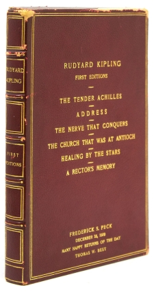 Collection of 6 first American copyright editions, comprising:] A Rector's Memory, The Nerve that...