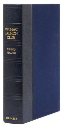 Fishing Record 1886 [Cover title]