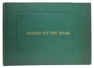 Scenes on the Road]-cover title. Coaching, C. B. Newhouse