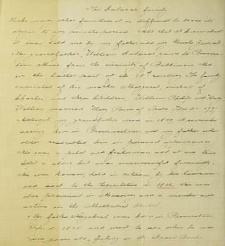 "Document Signed (""Nath' Hawthorne""), in his role as Consul of the United States at Liverpool, concerning the sale of the American ship Sea Lion"