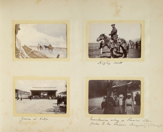 [Photograph Album of Travels in Russian Central Asia and Mongolia]