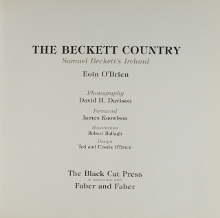 The Beckett Country. Samuel Beckett's Ireland
