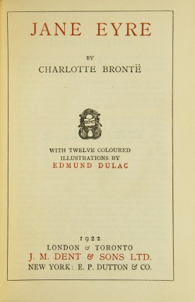 [Works] The Novels of Charlotte, Emily, & Anne Brontë. Jane Eyre; Villette; Wuthering Heights; The Professor; Shirley; The Tenant of Wildfell Hall and Agnes Grey