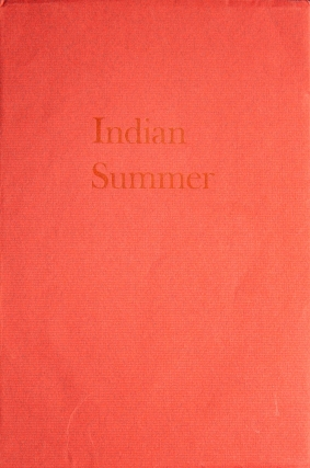 Indian Summer. Roy O'Connor, Susan