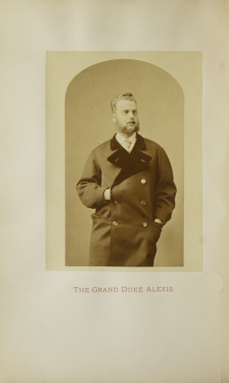 His Imperial Highness The Grand Duke Alexis in the United States of America of America during the Winter of 1871-1872