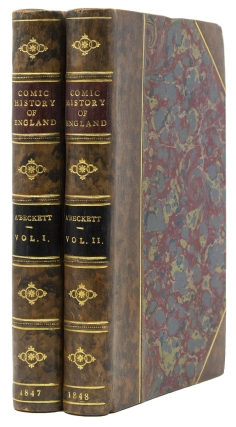 The Comic History of England. Gilbert Abbott a Beckett