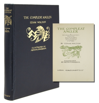 The Compleat Angler. Or The Contemplative Man's Recreation. Being a Discourse of Rivers,...