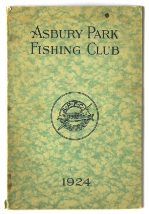 Asbury Park Fishing Club 1924