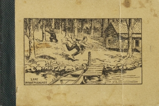 On Lake Winnepesaukee. Summer Outing (1899) of the Lujimkidjuleharry Quintette. New Hampshire