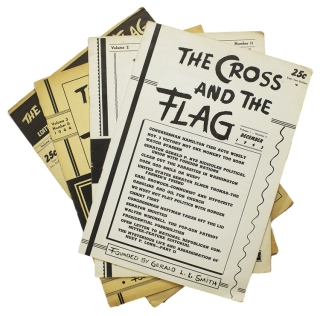 The Cross and the Flag. Volume 1, Number 8. America First Party, Gearld L. K. Smith