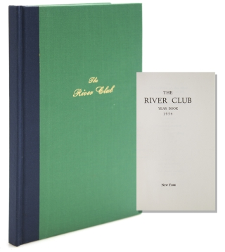 The River Club, Year Book 1954. River House